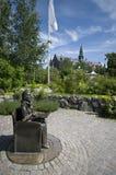 Statua in giardino Immagini Stock Libere da Diritti