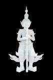 Statua gigante bianca tailandese immagini stock