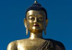 Statua gigante del buddha Fotografie Stock Libere da Diritti