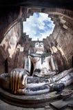 Statua gigante del Buddha in Tailandia fotografia stock