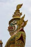 Statua gigante del mostro Fotografia Stock