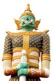 Statua gigante isolata Immagini Stock