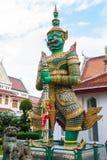 Statua gigante verde fotografie stock libere da diritti