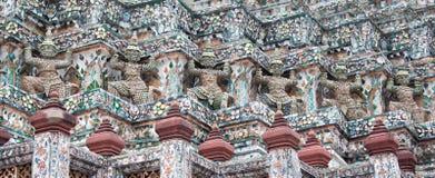 Statua gigante a Wat Arun Immagine Stock Libera da Diritti