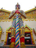 Statua gigante a Wat Chaiyamangalaram Penang Malaysia Fotografia Stock
