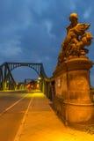 Statua Glienicke most Obrazy Royalty Free