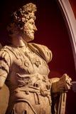 Statua greca del corpo del marmo di età fotografie stock libere da diritti