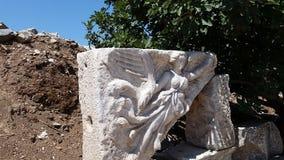 Statua greca della dea di Nike Fotografie Stock Libere da Diritti