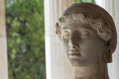 Statua grecka bogini Nike obrazy stock