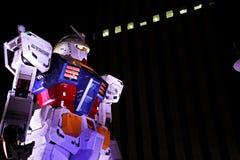 Statua Gundam Zdjęcie Royalty Free