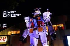 Statua Gundam Fotografia Royalty Free