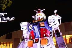 Statua Gundam Zdjęcia Royalty Free