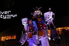 Statua Gundam Fotografia Stock