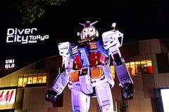 Statua Gundam Zdjęcia Stock