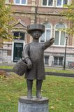 Statua Haags Jantje a Den Haag City The Netherlands 2018 fotografia stock