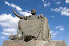 Statua Haci Bektas Veli, Nevsehir Fotografia Stock