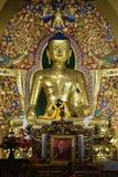 Statua Handcrafted di Buddha a Norbulingka Instiutute Fotografia Stock Libera da Diritti