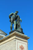 Statua Hercules Farnese obraz royalty free