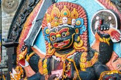 Statua hinduski bóstwo Shiva Fotografia Royalty Free