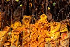 Statua Hinduski węża bóg obrazy royalty free