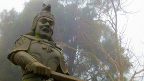 Statua a Hong Kong Fotografia Stock