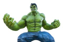 Statua hulka bohater w Disney Paris zdjęcia stock