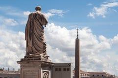 Statua i San Pietro Royalty Free Stock Photo