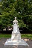 Statua imperatorowa Elisabeth lub Sissi, Merano fotografia royalty free