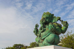 Statua indù di Ganesha Dio fotografie stock