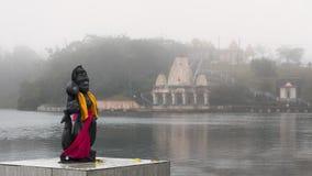 Statua indù in grande bacino Mauritius Immagine Stock Libera da Diritti