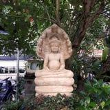 Statua indiana di pietra Fotografia Stock Libera da Diritti