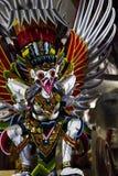 Statua indonesiana spaventosa fotografie stock