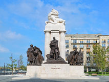 Statua Istvan Tisza w Budapest, Węgry Zdjęcie Stock