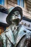Statua James Joyce, Dublin, Irlandia obrazy stock