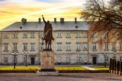 Statua Jan Zamoyski Zdjęcie Royalty Free
