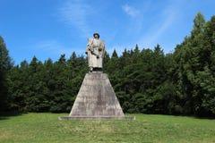 Statua Jan Zizka Obrazy Stock