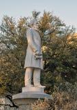 Statua Jefferson Davis Konfederacyjny Wojenny pomnik w Dallas, Teksas Obraz Royalty Free