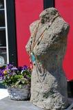 Statua jest ubranym kolię obraz royalty free