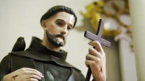 Statua jezus chrystus w kościół zbiory
