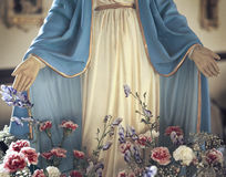 Jesus szeroko rozpościerać ręki Zdjęcie Royalty Free