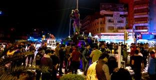 Statua Kahramana i Czterdzieści złodziejów obrazy royalty free