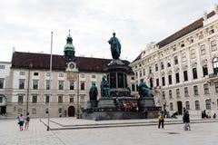 Statua Kaiser Franz Joseph Ja Obrazy Royalty Free