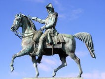 Statua Karl XIV Johan zdjęcie royalty free