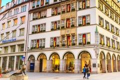 Statua knur w Monachium, Niemcy Obraz Stock