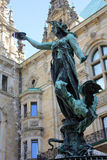 Statua kobieta Obrazy Royalty Free
