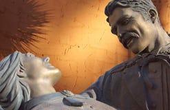 Statua Kochankowie, Scottsdale, AZ Fotografia Royalty Free