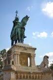 Statua królewiątka St Stephan, Budapest, Węgry Fotografia Royalty Free