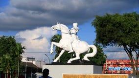 Statua książe Diponegoro Zdjęcia Royalty Free