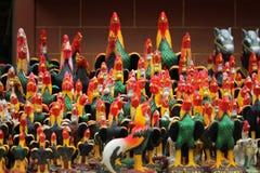 Statua kurczak zdjęcia stock