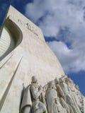 Statua Lisbona di scoperte del mare Fotografia Stock